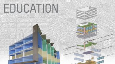 Vertical schools and education facilities are one possible use.
