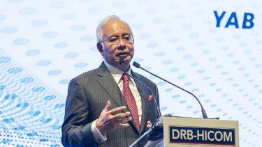 Najib Razak, Malaysia's prime minister, remains under a corruption cloud.