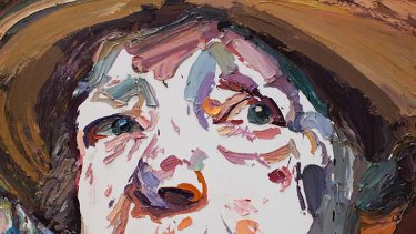 Ben Quilty's winning portrait of Margaret Olley.