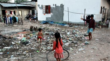 Poverty in Cambodia remains entrenched in many parts of the nation.