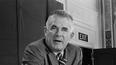 Special Prosecutor Archibald Cox was fired by Richard Nixon for refusing to back off his pursuit of the White House Watergate tapes.