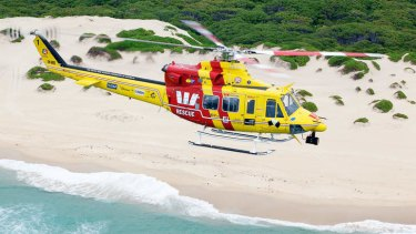 Westpac's Life Saver Rescue Helicopter.