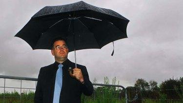 Stood down … the Hills Shire mayor, Greg Burnett.