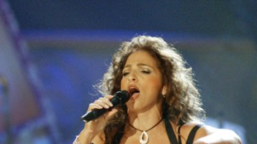 Hitmaker bombs out ... Gloria Estefan's embrace of Obama disappoints her fans.