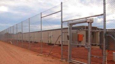 Curtin Immigration Detention Centre in WA.