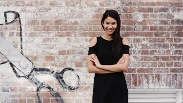 Canva founder Melanie Perkins.