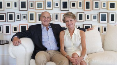 Andrew and Renata Kaldor: ''Australia is a generous, welcoming country.''