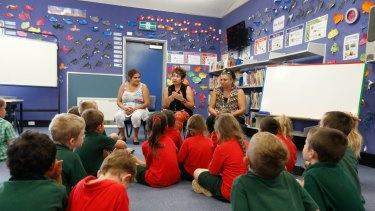A Dubbo West indigenous language class.