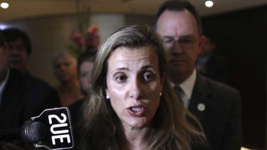 Kathy Jackson ... in the sights of senior officials.