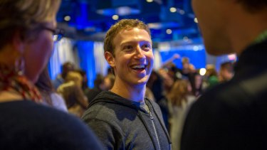 """""""We want to make sure that our products are not just fun but are good for people."""": Facebook chief Mark Zuckerberg."""