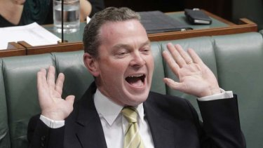 Christopher Pyne highlighted the urgent need for a national approach, and then said the states need more control.