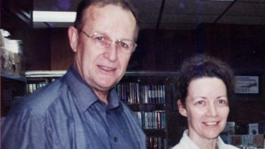Australian missionary John Short and his wife, Karen, in Hong Kong.