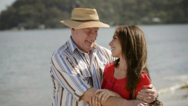 When there were calmer waters ... long-running series <i>Home and Away</i>.