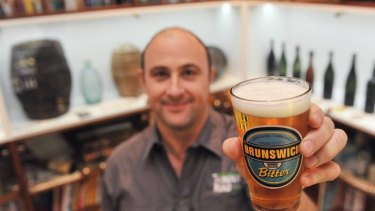 Philip Withers, chief executive of micro-brewery Thunder Road, is attempting to seize control of historic Australian beer brands.