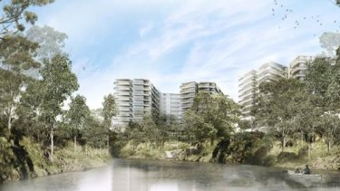 The proposal for 627 Victoria Street, Abbotsford.