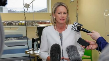 Assistant Health Minister Fiona Nash intervened to have a food ratings website pulled down.