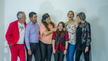 Some of Canberra's reality TV stars gathered for a special photo shoot for The Canberra Times - and instantly bonded.