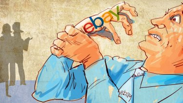 The claw of eBay: The ecommerce site appears to have laid bare a questionable corporate structure as part of a court case.