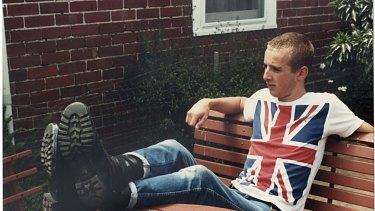 Before the horror: Julian Knight in 1986.