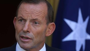 """Prme Minister Tony Abbott: """"Even people who are at the very top of their game… will occasionally make mistakes."""""""