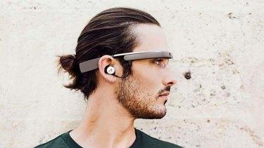 Google Glass' new look.