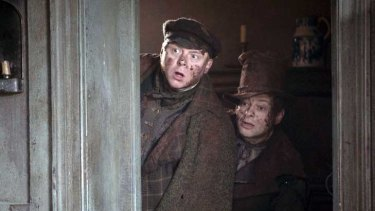 What a way to earn a living: Simon Pegg and Andy Serkis in Burke & Hare.