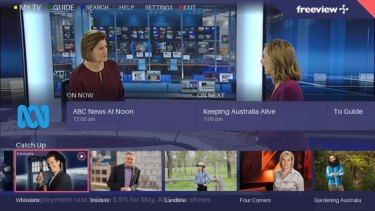 FreeviewPlus makes it much easier to find something worth watching on free-to-air television.
