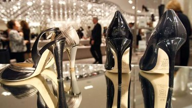 Quick turnaround: Jimmy Choo was bought for over 500 million pounds in 2011.