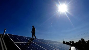 The government has cut $370 million in funding from the Australian Renewable Energy Agency.
