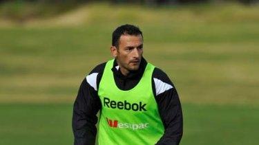 Homecoming ... Melbourne Heart midfielder Josip Skoko.