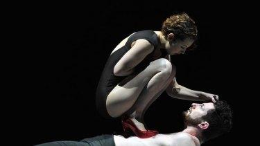 Alice Muntz and Nathan Boyle in <i>CIRCA</i>.