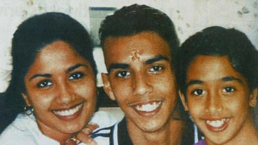Murder victims Neelma, 24, Kunal, 18, and Sidhi Singh.
