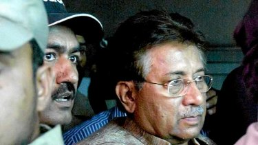 Musharraf (right) may come to regret his decision to return from exile.