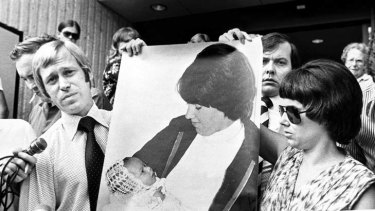 Long fight to clear names ... Michael and Lindy Chamberlain after the 1981 inquest.