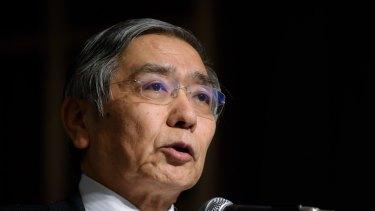 Haruhiko Kuroda's negative interest rates have spurred interest in Australian listed property.