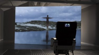 Familiar sensation: The Lacrima Chair, 2015 by Shaun Gladwell.