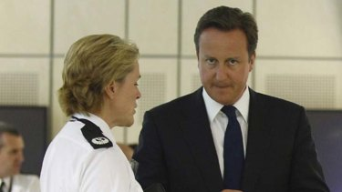 Clamping down ... British Prime Minister David Cameron.