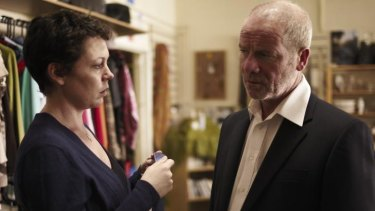 Peter Mullan and Olivia Colman play damaged characters on the verge of discovery in actor Paddy Considine's directorial debut.