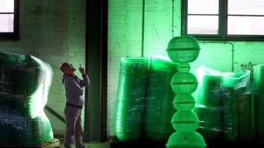 Korean artist Choi Jeong Hwa's <i>Hubble Bubble</i>.
