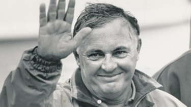 Alan Bond rose to prominence with his business deals in the 1980s and Australia's Americas Cup win.