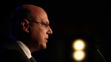 """""""It is not like (customers) get signed up on the spot"""": Federal Assistant Treasurer Arthur Sinodinos."""