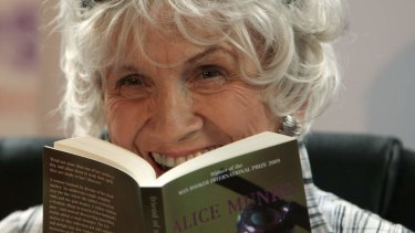 "Alice Munro: Some critics consider her a ""Canadian Chekhov""."