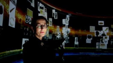 Future of displays: Professor Sarah Kenderdine says the new system is a technological and conceptual leap.
