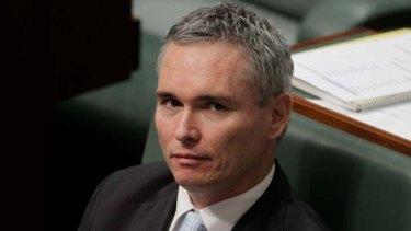 Embattled MP for Dobell Craig Thomson.