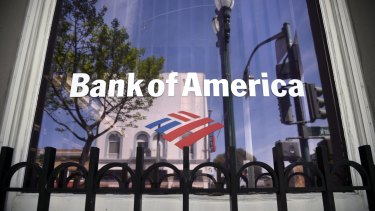 Bank of America is the most sensitive of the big US banks to interest rate changes.