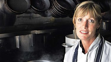 Skye Gyngell ... the former heroin addict has earned a Michelin star at her cafe in west London.