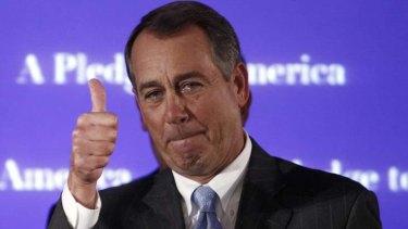 Committed ... John Boehner.