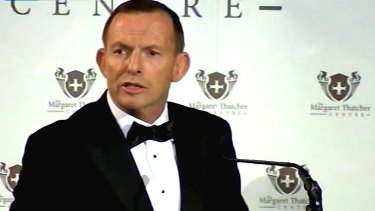 Outspoken: Tony Abbott