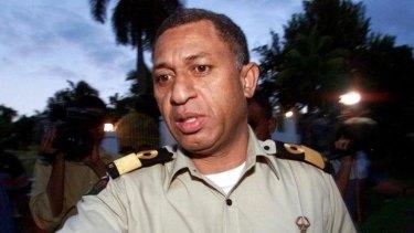 Polling countdown: Frank Bainimarama head of Fiji's military government.