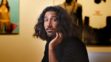 Waiting: Mike Chavez says he will be glad to be paid for his work.